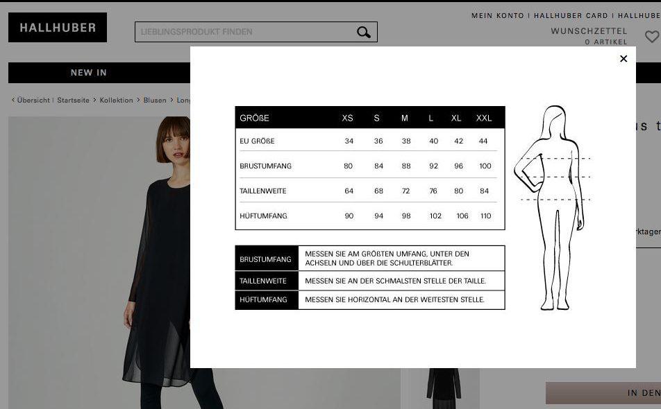 e87806190edd Welche Kleidergröße habe ich? - 5 Tipps zur richtigen Größe und ...